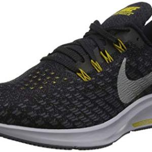 Nike Men's Air Zoom Pegasus Running Shoe Black/Metallic