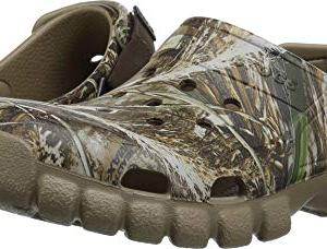 Crocs Unisex Adult Offroad Sport RT Max5 2 CLG Clog, chocolate/khaki