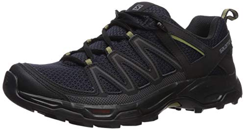 SALOMON Men's Pathfinder Hiking Shoes, Night Sky/Black/Military Olive