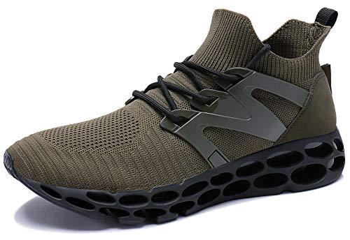 UMYOGO Men Outdoor Running Shoes Breathable Non-Slip Fitness