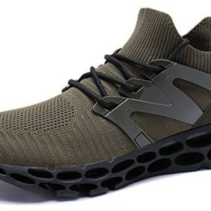 UMYOGO Men Outdoor Running Shoes Breathable Non-Slip Fitness