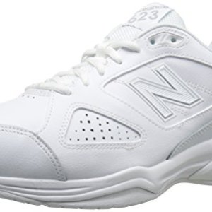 New Balance Men's MX623v3 Casual Comfort Training Shoe, White, 9.5 2E US