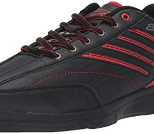 KR Strikeforce Bowling Shoes Mens Crossfire Lite Bowling ShoesBlack/Red
