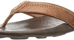 Olukai Hiapo - Mens Supportive Sandal Rum/Dark Java