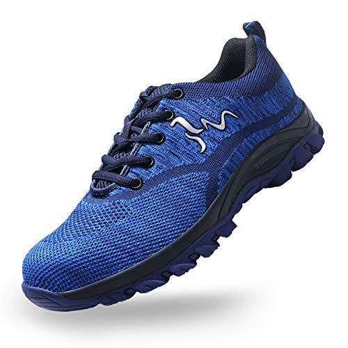 SUADEX Steel Toe Shoes for Men and Women Industrial Construction