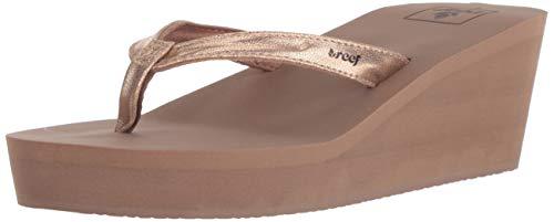 Reef Women's Sandals Midnight | Stylish Classic Platform Flip Flop for Women