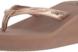 Reef Women's Sandals Midnight | Stylish Classic Platform Flip Flop for Women