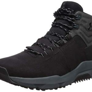 Under Armour Men's Culver Mid Waterproof Sneaker, Black (001)/Pitch Gray, 11