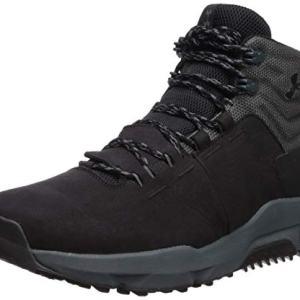 Under Armour Men's Culver Mid Waterproof Sneaker, Black (001)/Pitch Gray, 11