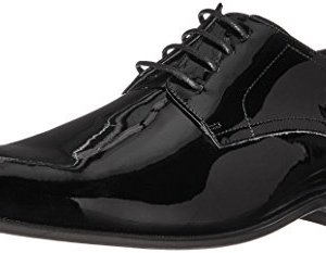 Florsheim Men's Tux Plain Toe Tuxedo Formal Oxford Black Patent