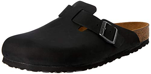Birkenstock Boston, Clog for Men 42 Black