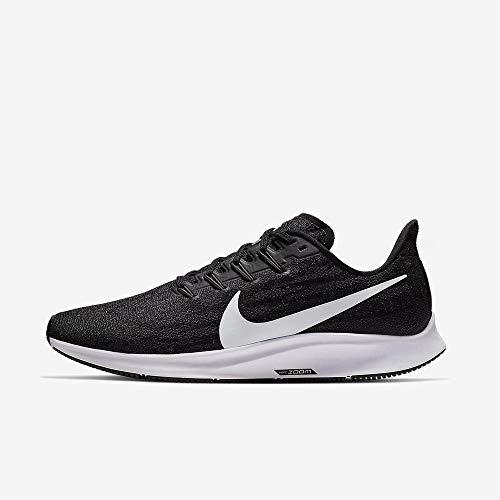 Nike Men's Air Zoom Pegasus 36 Running Shoe Black/White/Thunder Grey