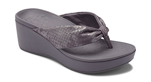 Vionic Women's Atlantic Arabella Toe-Post Platform Sandal