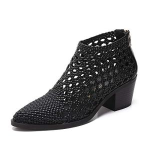 MACKIN J Ankle Boots Women's Plait Mesh Ankle Boots