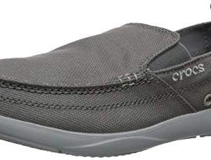 Crocs Men's Walu Loafer, Slate Light Grey