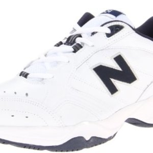 New Balance Men's MX624v2 Casual Comfort Training Shoe, White/Navy, 13 2E US