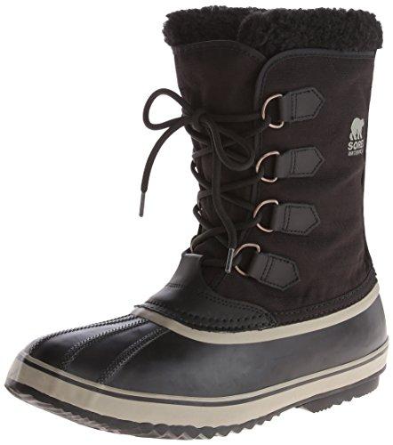 Sorel Men's Pac Nylon Snow Boot,Black/Tusk