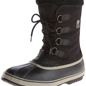 Sorel Men's Pac Nylon Snow Boot,Black/Tusk