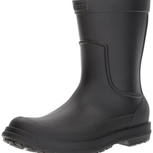 Crocs Men's AllCast M Rain Boot ,Black/Black