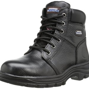 Skechers for Work Women's Workshire Peril Boot, Black