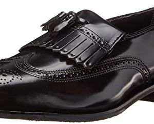 Florsheim Men's Lexington Kilty Tassel Loafer,Black