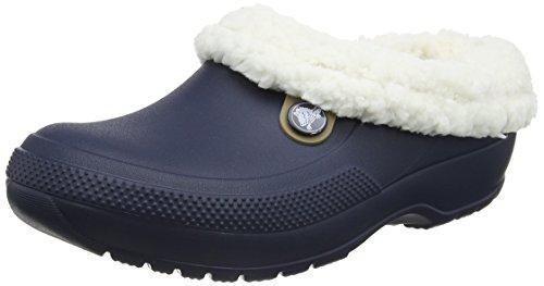 Crocs Unisex Classic Blitzen III Clog Navy/Oatmeal