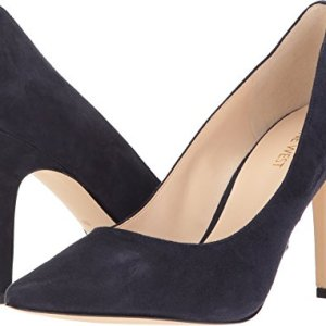 Nine West Women's Jackpot Navy Suede