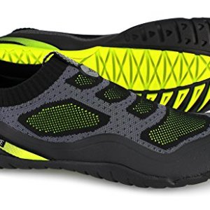 Body Glove Men's Aeon Water Shoe, Black/Neon Yellow