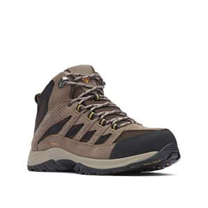 Columbia Men's Crestwood Mid Waterproof Hiking Boot, Breathable