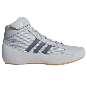 adidas Hvc2 Youth Light Onyx Dark Onyx Wrestling Shoes Onyx