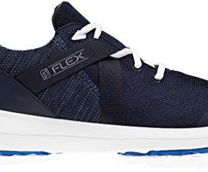 FootJoy Men's FJ Flex Golf Shoes- Navy