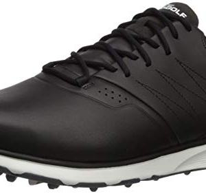 Skechers Men's Mojo Waterproof Golf Shoe, Black/Silver