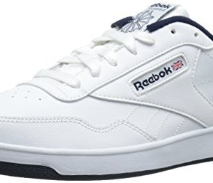 Reebok Men's Club MEMT Sneaker, White/Collegiate Navy, 11 M US