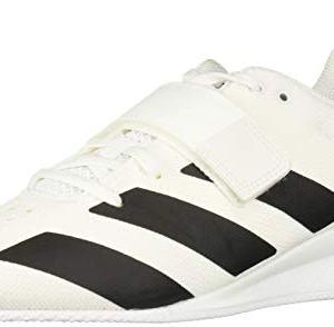 adidas Men's Adipower Weightlifting II Cross Trainer, Black/White, 14 M US