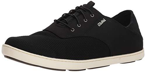 OLUKAI Men's Nohea Moku Shoes Onyx/Onyx