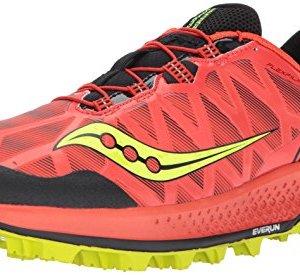 Saucony Men's Koa ST Running Shoe, Orange Citron