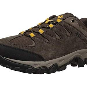 Columbia Men's Buxton Peak Hiking Shoe, Cordovan, Squash