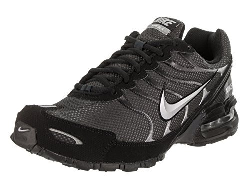 Nike Mens Air Max Torch 4 Running Shoes, Anthracite/Metallic Silver/Black