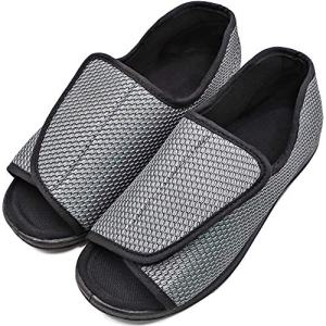 Womens Diabetic Shoes Adjustable Slippers Comfortable Sandal