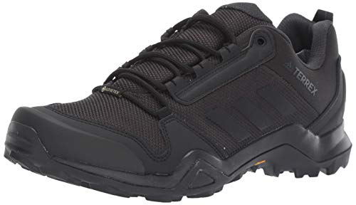 Adidas outdoor Men's Terrex AX3 GTX Hiking Boot, Black/Carbon, 13 M US