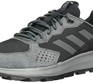 adidas Men's Response Trail Running Shoe, Black/Grey Six, 9.5 Medium US
