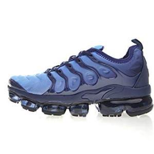 Yuyou Men'sSneakersSportsAirCushionLightweightPlusTnRunningFitnessTrainingShoes Navy Blue/Black