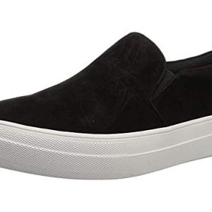 Steve Madden Women's Gills Sneaker Black Suede