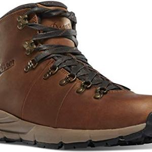 Danner Men's Mountain Hiking Boot, Rich Brown - Full Grain