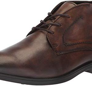 ECCO Men's Melbourne Chukka Ankle Boot, Cocoa Brown