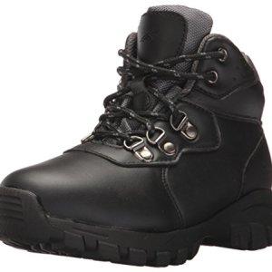 Deer Stags Boys' GORP Hiking Boot, Black