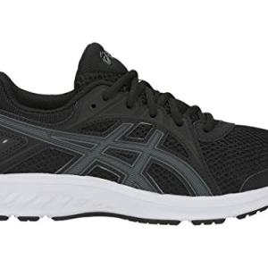 ASICS Kid's Jolt 2 GS Running Shoes, 6.5M, Black/Steel Grey