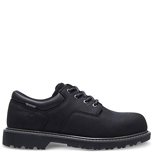 WOLVERINE Men's Floorhand Oxford Steel Toe Construction Shoe