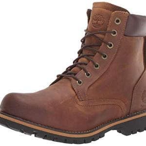 Timberland Men's Earthkeepers Rugged Boot, Medium brown full grain