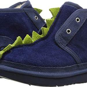 UGG Kids Boy's Dydo Neumel II (Little Kid/Big Kid) Navy/Bright Chartreuse